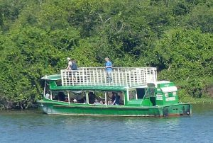 bootsfahrt auf dem kazinga-kanal
