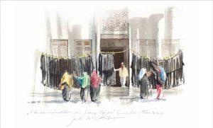 Kleiderverkauf auf Sansibar