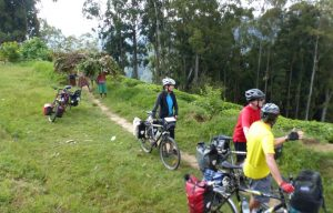 Reisebericht Fahrradtour Ruanda, am Anfang des Nyungwe Forest