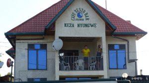 Reisebericht Fahrradtour Ruanda, Unterkunft nach der Fahrt durch den Nyungwe Forest