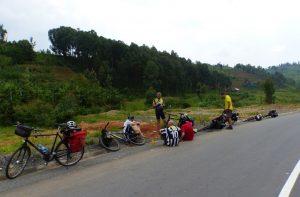 Reisebericht Fahrradtour Ruanda, auf dem Weg zum Bumba Base Camp