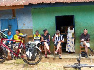 Reisebericht Fahrradtour Ruanda, Pause auf dem Congo Nile Trail