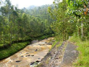 Reisebericht Fahrradtour Ruanda, von Gakenke nach Kigali durch ein Flusstal